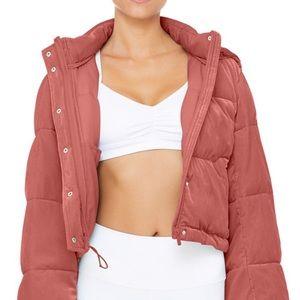 Alo Velvet Puffer Jacket